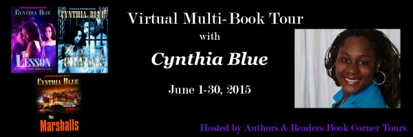 Cynthia Blue Book Tour Banner